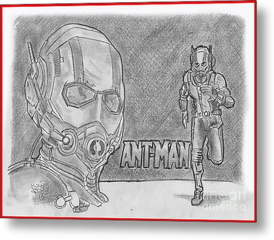 Antman Metal Print by Chris DelVecchio