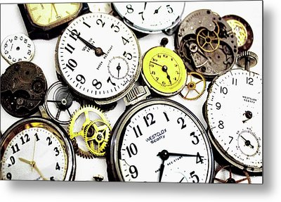 Anybody Really Know What Time It Is Metal Print