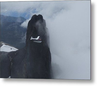 Metal Print featuring the photograph Aop At Black Tusk by Mark Alan Perry
