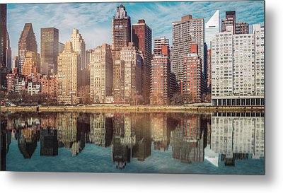 Apartment Blocks  Metal Print