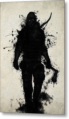 Apocalypse Hunter Metal Print