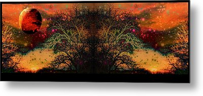 Apocalyptic Epitaph  Metal Print by Darin Baker