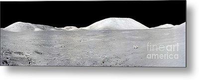 Apollo 17 Panorama Metal Print by Stocktrek Images