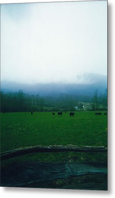 Appalachian Pasture Metal Print by Utopia Concepts