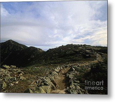 Appalachian Trail - Mount Lincoln - White Mountains New Hampshire Usa Metal Print by Erin Paul Donovan