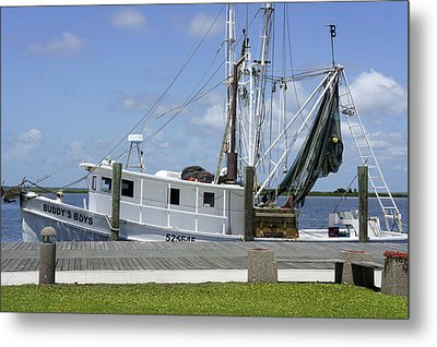 Appalachicola Shrimp Boat Metal Print