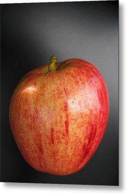 Metal Print featuring the photograph Apple by Lindie Racz