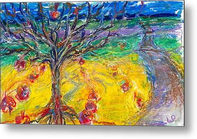 Apple Tree Metal Print by Laurie Parker
