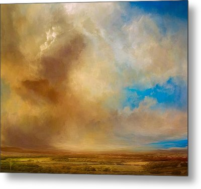 Apple Valley Metal Print