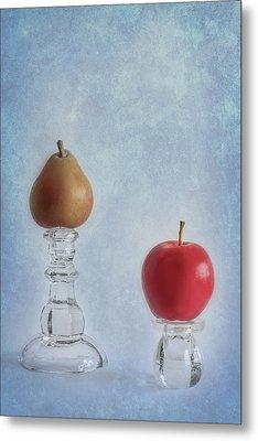 Apples To Pears Metal Print