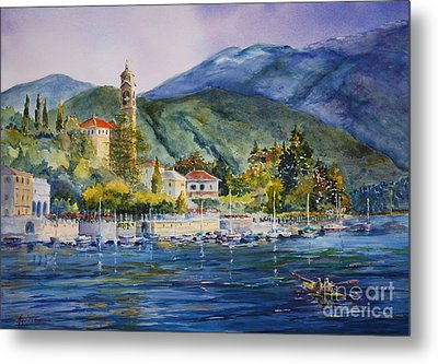 Approaching Bellagio Metal Print by Betsy Aguirre