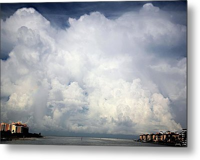 Approaching Storm Metal Print by Carol Kinkead