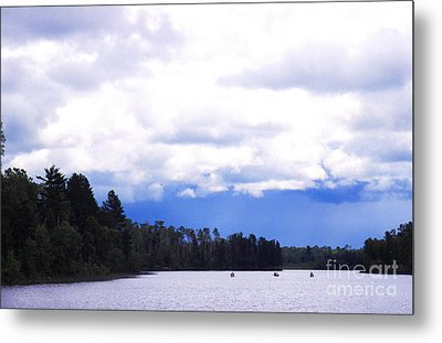 Approaching Storm Metal Print by Thomas R Fletcher