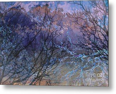 Spring Rain Metal Print by Ursula Freer
