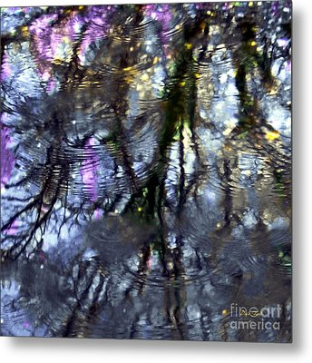 April Showers 2 Metal Print by Dale   Ford