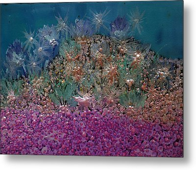 Aquarius Painting Metal Print by Don  Wright