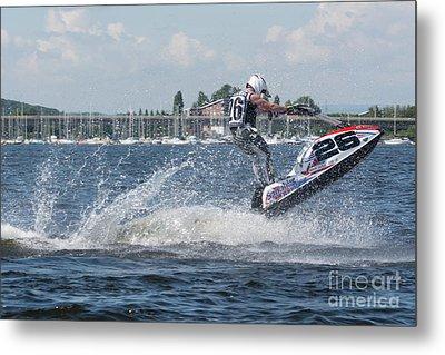 Aquax Jetski Racing 1 Metal Print
