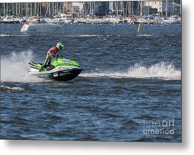 Aquax Jetski Racing 2 Metal Print
