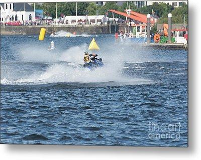 Aquax Jetski Racing 3 Metal Print