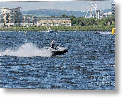Aquax Jetski Racing 4 Metal Print