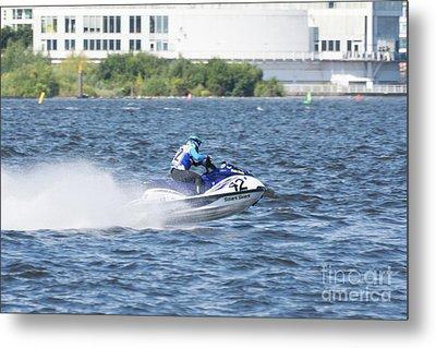 Aquax Jetski Racing 5 Metal Print