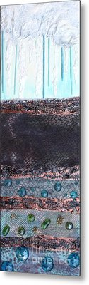 Metal Print featuring the painting Aquifer by Terri Thompson
