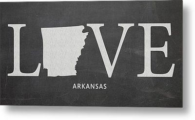 Ar Love Metal Print by Nancy Ingersoll