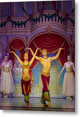 Arabian Dancers Metal Print