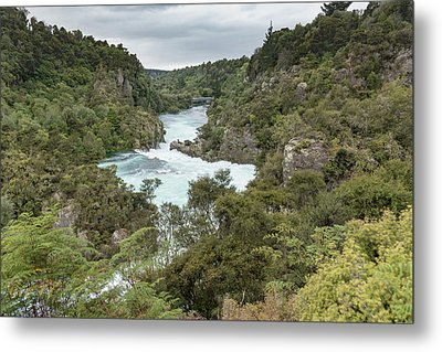 Metal Print featuring the photograph Aratiatia Rapids by Gary Eason