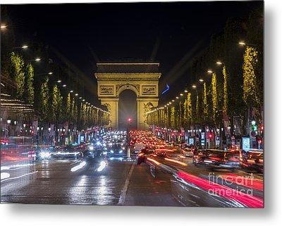 Arc De Triomphe Metal Print by Juli Scalzi