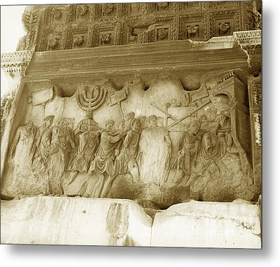 Arch Of Titus Metal Print by Photo Researchers, Inc.