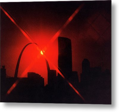 Metal Print featuring the photograph Arch Study 1 by Christopher McKenzie