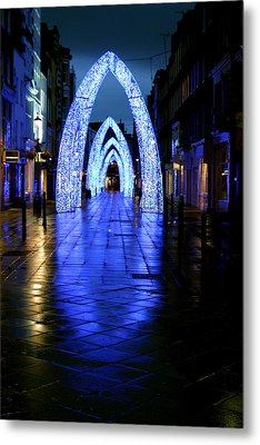 Arch To Freedom Metal Print by Jez C Self