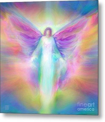 Archangel Raphael Healing Metal Print