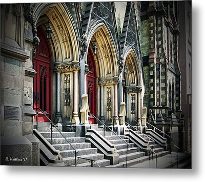 Arched Doorways Metal Print by Brian Wallace
