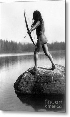 Archery: Nootka Indian Metal Print by Granger