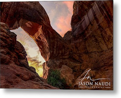 Metal Print featuring the photograph Arches by Jason Naudi