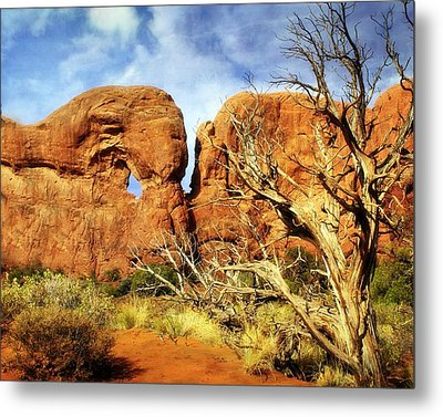 Arches Landscape 6 Metal Print by Marty Koch