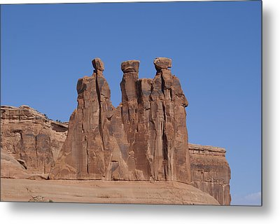 Arches National Park Metal Print by Cynthia Powell