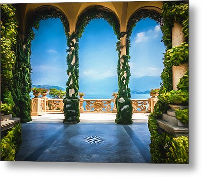 Arches Of Italy Metal Print by TK Goforth