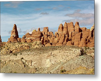 Arches Spires  Metal Print