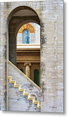 Arches Within Arches Metal Print by Christopher Holmes