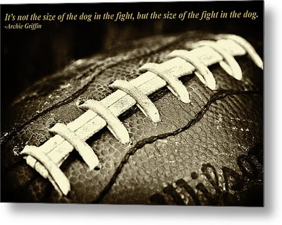 Archie Griffin Quote Metal Print by David Patterson
