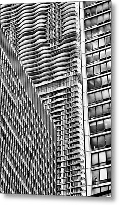 Architectural Abstract Metal Print by Robert  FERD Frank