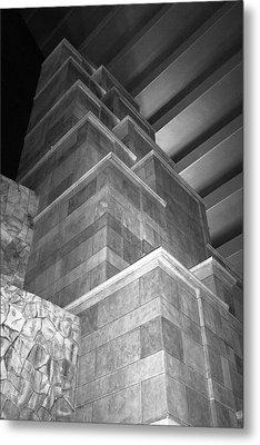 Architecture Detail Metal Print by Viktor Savchenko