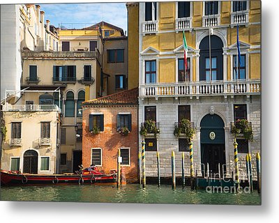 Architecture Of Venice - Italy Metal Print