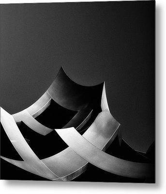 Arcology 3 Metal Print