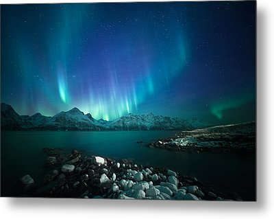 Arctic Blessings Metal Print by Tor-Ivar Naess