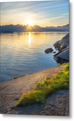 Metal Print featuring the photograph Arctic Sunrise by Maciej Markiewicz