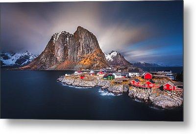 Arctic Wonderland Metal Print by Rickard Eriksson